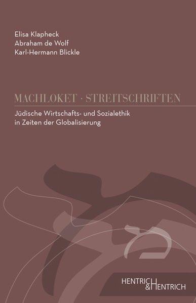 Jüdische Wirtschafts- und Sozialethik in Zeiten der Globalisierung