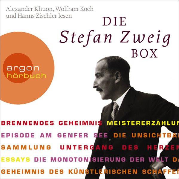 Die Stefan Zweig Box: Brennendes Geheimnis - Meistererzählungen - Essays