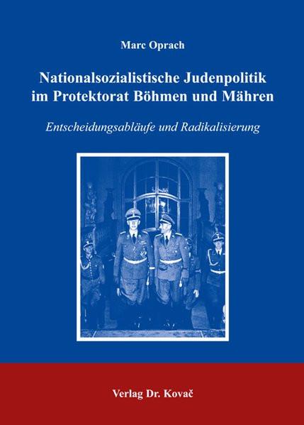 Nationalsozialistische Judenpolitik im Protektorat Böhmen und Mähren