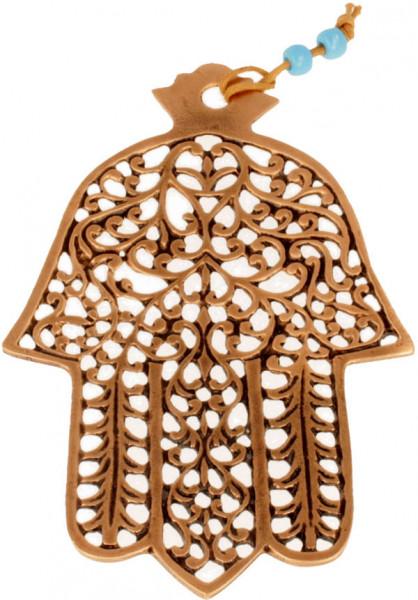 Haussegen Chamsa *ziseliert* Kupfer 16cm
