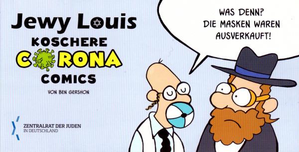 Jewy Louis koschere Corona Comics