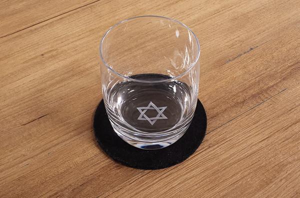 Glas Davidstern