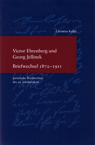 Victor Ehrenberg und Georg Jellinek