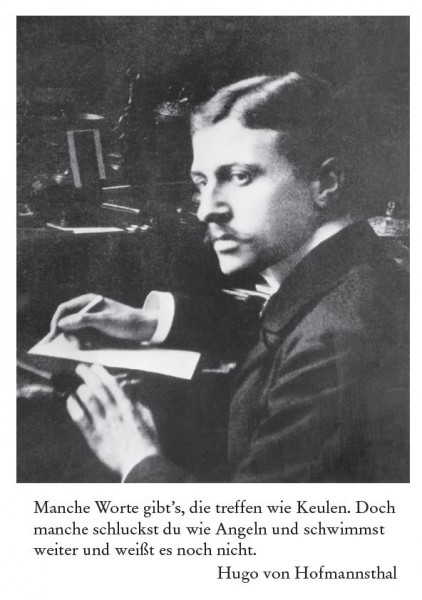 Hugo von Hofmannsthal (1874 Wien - 1929 bei Wien)