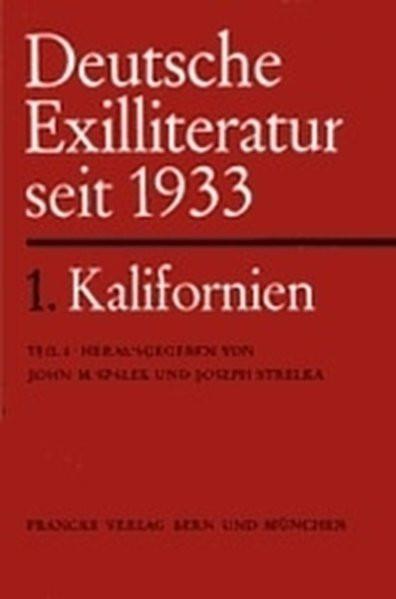 Deutschsprachige Exilliteratur seit 1933