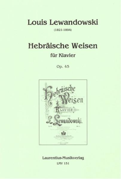 Hebräische Weisen für Klavier