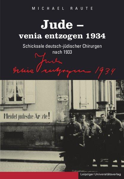 Jude - venia entzogen 1934
