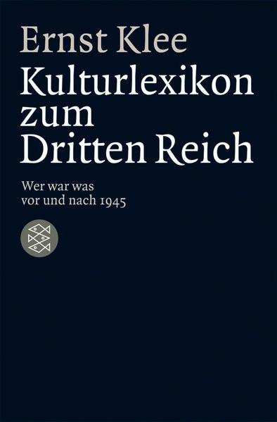 Kulturlexikon zum Dritten Reich