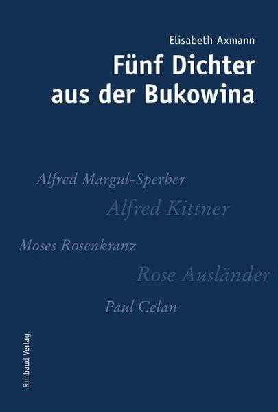 Fünf Dichter aus der Bukowina