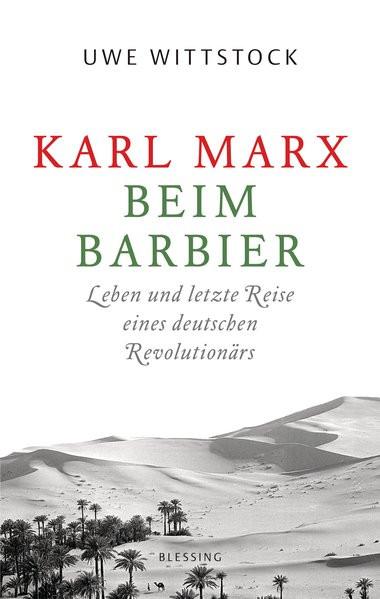 Karl Marx beim Barbier