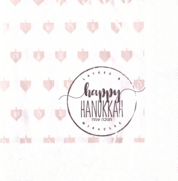 Servietten - Happy Hanukkah
