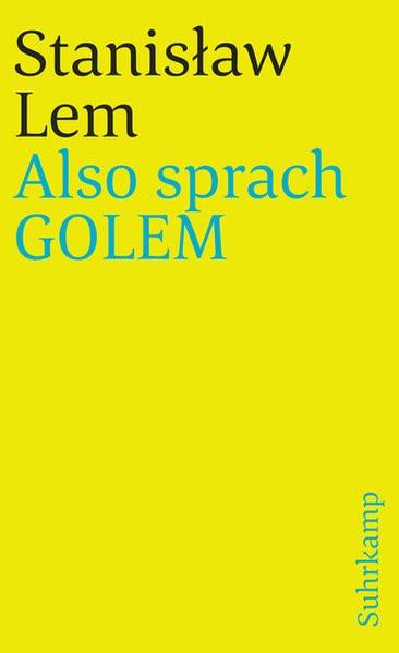 Also sprach Golem