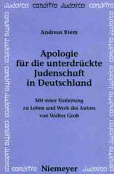 Apologie für die unterdrückte Judenschaft in Deutschland
