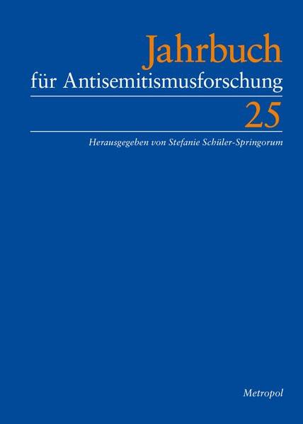 Jahrbuch für Antisemitismusforschung Bd. 25