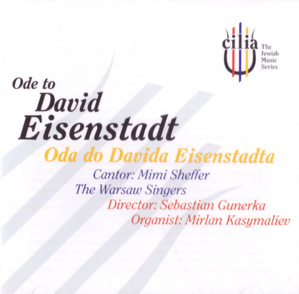Ode to David Eisenstadt. Oda do Davida Eisenstadta