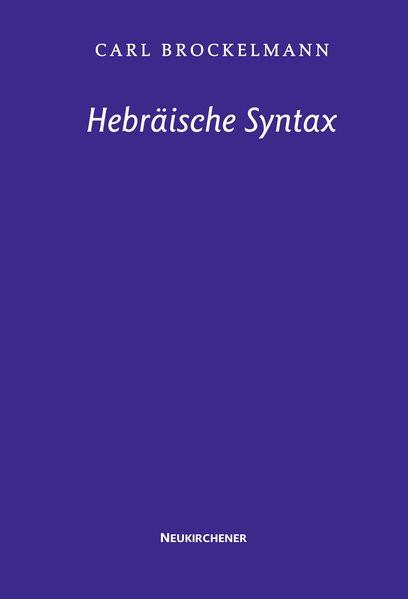 Hebräische Syntax