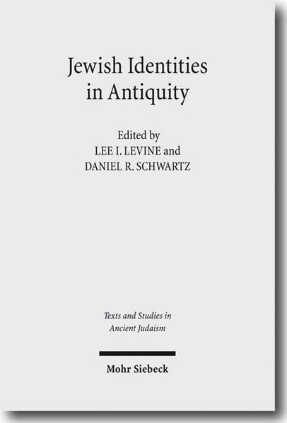 Jewish Identities in Antiquity