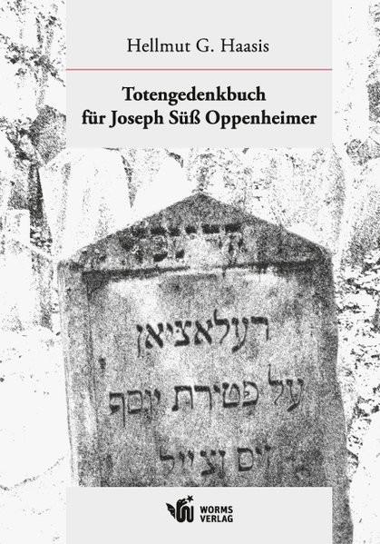 Totengedenkbuch für Joseph Süß Oppenheimer