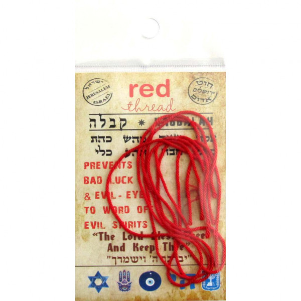 Armband Kabbala Fäden rot