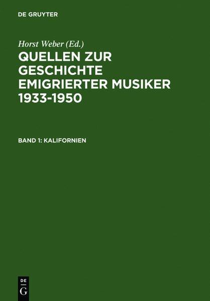 Quellen zur Geschichte emigrierter Musiker 1930-1950