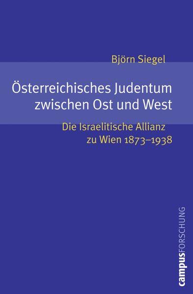 Österreichisches Judentum zwischen Ost und West
