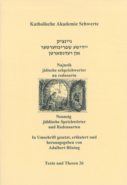 Najnzik jidische schprichwerter un rednsartn ojs der samlung fun S. Esthershon
