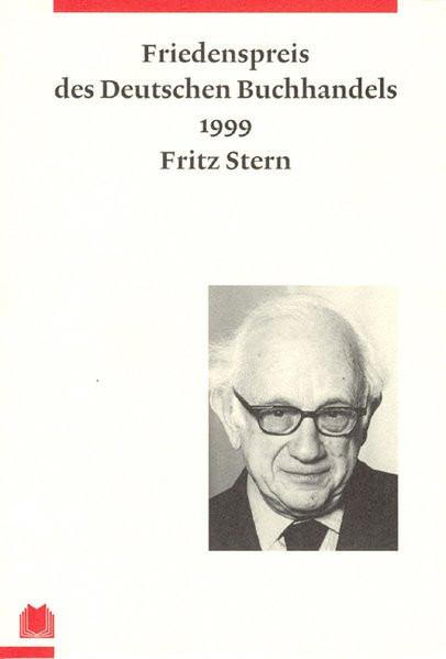 Ansprache Friedenspreis des Deutschen Buchhandels 1999