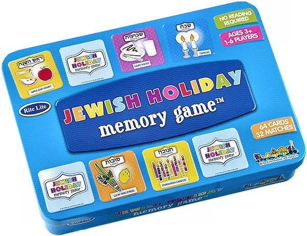 "Memory Game ""Jewish Holiday"" mit 72 Karten"