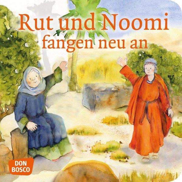 Rut und Noomi fangen neu an. Mini-Bilderbuch