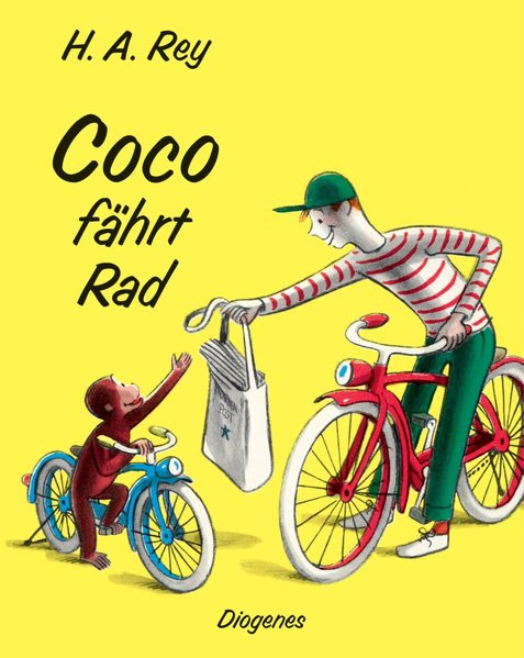 Coco fährt Rad