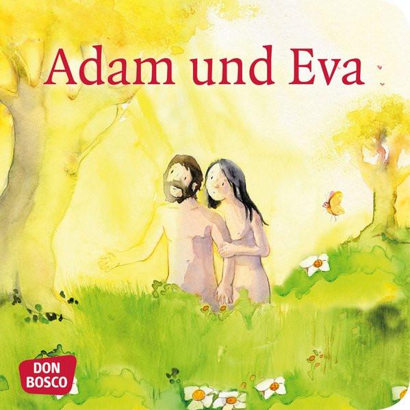 Adam und Eva. Mini-Bilderbuch