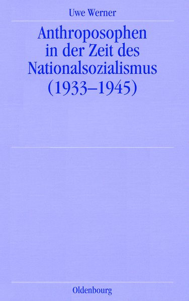 Anthroposophen in der Zeit des Nationalsozialismus (1933-1945)