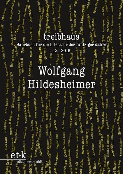 Treibhaus. Jahrbuch für die Literatur der fünfziger Jahre
