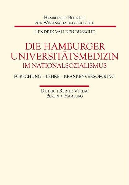Die Hamburger Universitätsmedizin im Nationalsozialismus