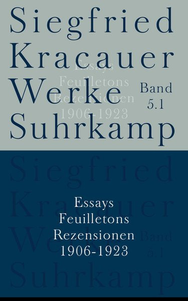 Werke. Bd. 5: Essays, Feuilletons, Rezensionen