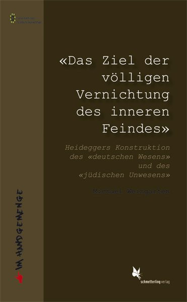 """""""Das Ziel der völligen Vernichtung des inneren Feindes""""."""