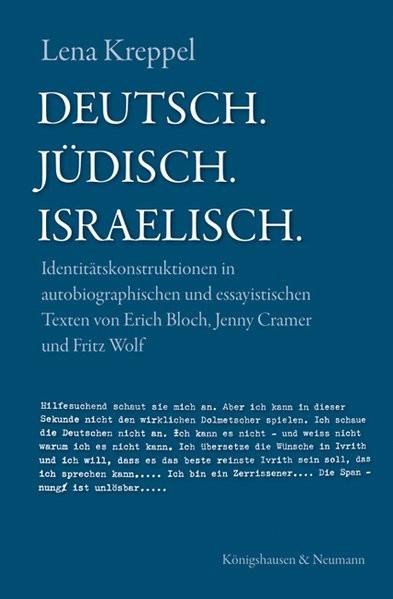 Deutsch. Jüdisch. Israelisch