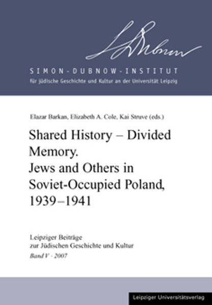 Shared History - Divided Memory
