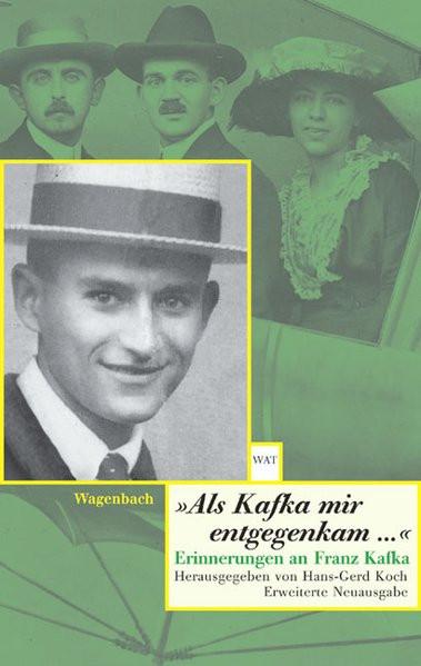 """Als Kafka mir entgegenkam"""
