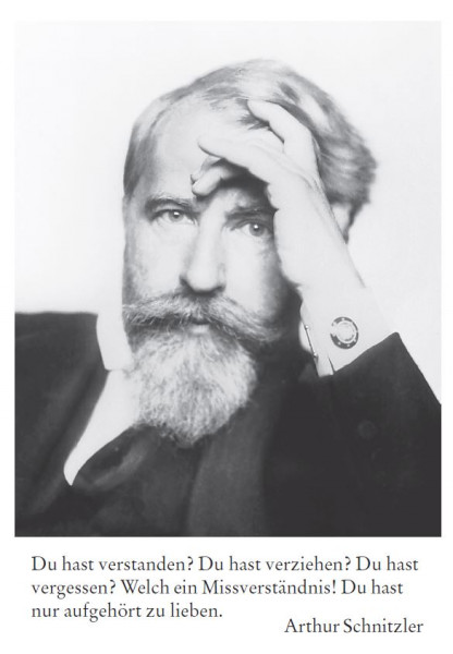Arthur Schnitzler (1862 Wien - 1931 Wien)