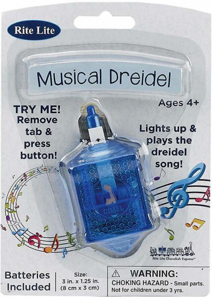 Dreidel mit Musik und Lichteffekten