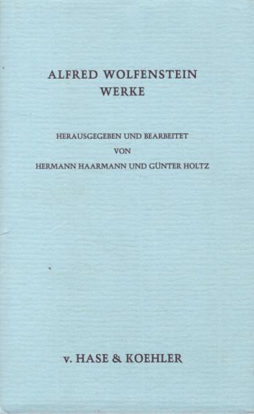 Alfred Wolfenstein Werke, Bd. 4: Dramen