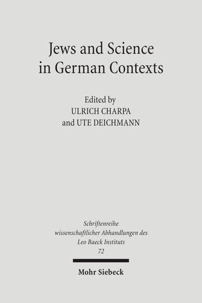 Jews and Sciences in German Contexts