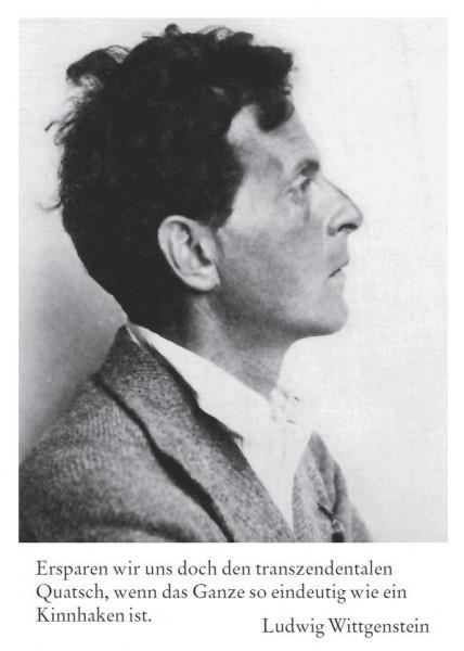 Ludwig Wittgenstein (1889 Wien - 1951 Cambridge)
