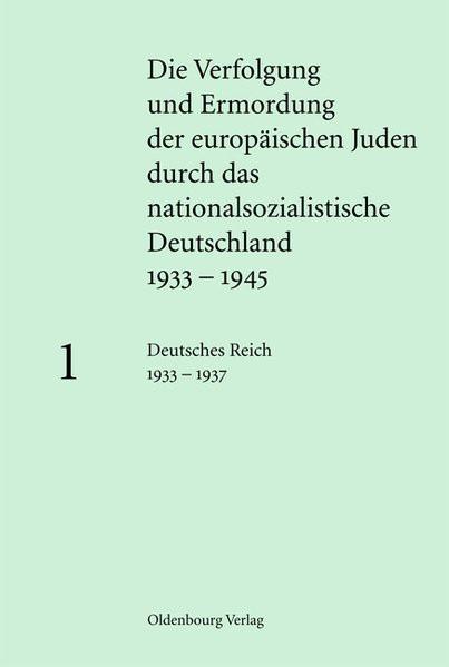und Ermordung der europäischen Juden durch das nationalsozialistische Deutschland 1933-1945