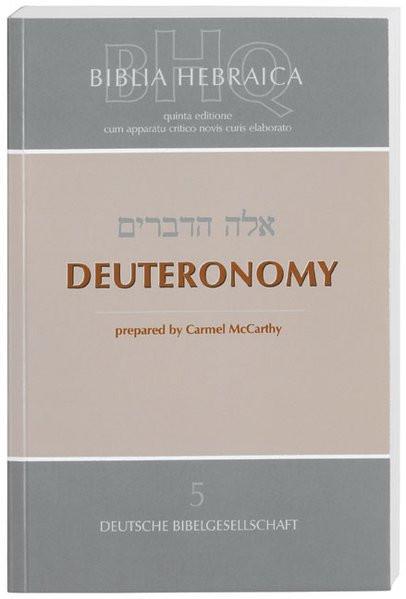 5: Deuteronomy