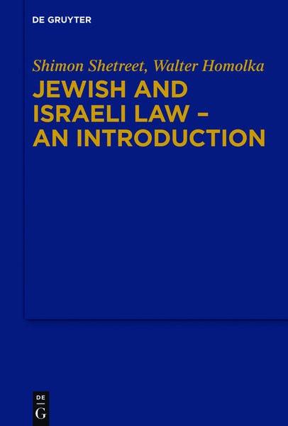 Einführung in das Jüdische und Israelische Recht