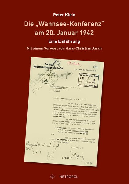 """Die """"Wannsee-Konferenz"""" am 20. Januar 1942"""