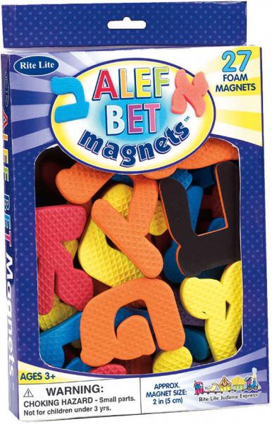 Magnetbuchstaben Alef Bet