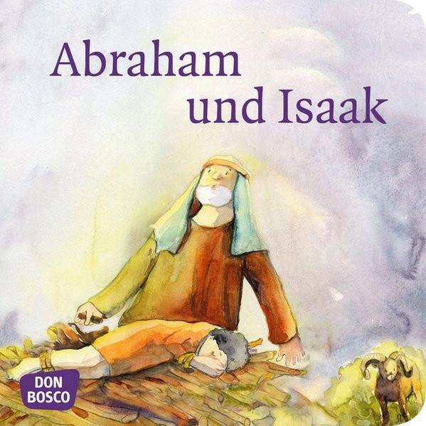 Abraham und Isaak. Mini-Bilderbuch